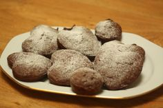 Chocolate heart muffins