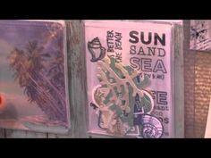 Coastal Escape Collection by Kaisercraft - CHA Winter 2016 Video