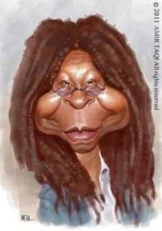 WHOOPI GOLDBERG _____________________________ Reposted by Dr. Veronica Lee, DNP (Depew/Buffalo, NY, US) by christie