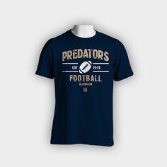 Diseño de camiseta Alcorcón Predators