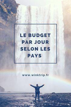 Quel est le budget par jour selon les pays quand on voyage ? #voyage #digmasbord #digmasbordbot #chatbot #conseils #voyages #astuces #voyageurs #vacances #budget #destination2018 #travelerslovers #motivation #mood