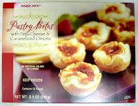 What's Good at Trader Joe's?: Trader Joe's Pastry Bites with Feta Cheese and Caramelized Onions