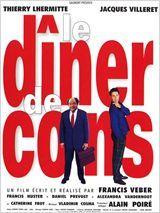 <3<3 Le Dîner de Cons by Francis Veber, 1998 (Jacques Villeret, Thierry Lhermitte, Francis Huster, Alexandra Vandernoot, Daniel Prévost, Catherine Frot)