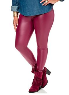 d60fb3b27b142f Fashion Bug Plus Size Tops and Tees. Leather Leggings Plus SizePlus Size  LeggingsFaux Leather LeggingsWomen's ...