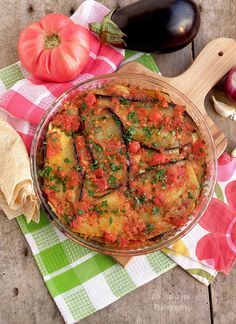 Bulgarian Recipes, Ratatouille, Vegan, Cooking, Ethnic Recipes, Food, Eggplants, Meal, Kochen