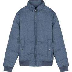 Reply BST products in 1980 with inspiration from the style of the 80s fashion man jacket quilted cotton turtleneck bomber shape with the body front pocket style tray. Gray shirt with blue tones energetic style, unisex slightly. This product has a female version (code 6OT16W014), you can choose to combine dual map. Prices: 50$
