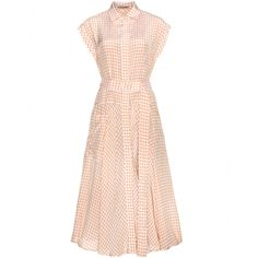 Bottega Veneta Gingham Shirt Dress, $2,300; mytheresa.com     - ELLE.com