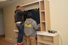 Anyway, because I like to brag about him and show off his work, here's some more finish carpentry ideas for you...