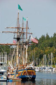Anacortes Town Harbor ~ Fidalgo Island, Washington