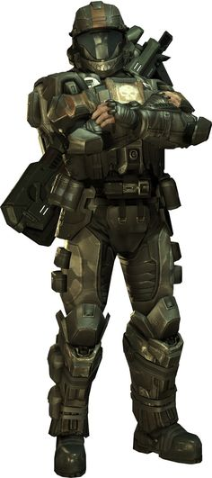 Didn't really like Dutch as a character but his armour is cool as hell Halo 3 Odst, Halo Cosplay, Tom Clancy's Ghost Recon, Halo Videos, Halo Armor, Halo Series, Halo Game, Master Chief, Science Fiction