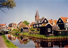Volendam is home to inhabitants who are well-loved for their traditional costumes and practices. There is a great cheese farm and clog factory on the way from Amsterdam to Volendam.