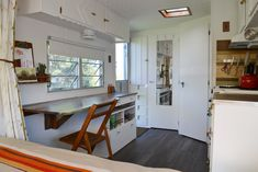 A 1960s trailer gets transformed into a traveling tiny home
