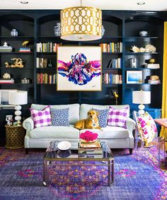 When it comes to incorporating color into your home decor, there are many ways to create a successful space. A bold color choice can create interest and a great focal point. Check out these three ways you can use bold color in interior design.