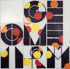 joe tilson, geometry? 3, 1964 (via)