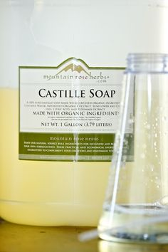 castille CAN work in a foaming soap dispenser!!  as soon as mine are empty...
