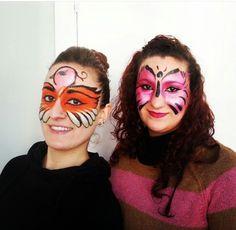 Maquillaje de fantasia infantil original para fiestas de niños.  #CristinaGamezMakeUp #MaquilladoraProfesional #MaquillajeFantasia