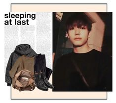 """""""Taehyung: Sleeping At Last"""" by virgoria ❤ liked on Polyvore featuring GET LOST, Jakke, DAMIR DOMA, H&M, Friis & Company and Givenchy"""