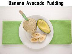 1 banana, peeled and frozen + 1/4 frozen avocado + 1 cup unsweetened almond milk + 1/4 teaspoon vanilla extract