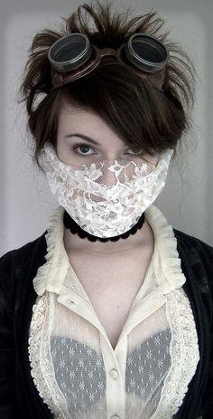 Lace Mask 3 by LadyduLac.deviantart.com on @deviantART