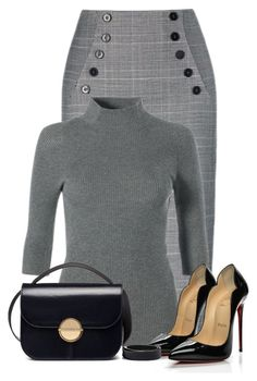 """Untitled #24069"" by nanette-253 ❤ liked on Polyvore featuring Christian Louboutin and Marni"