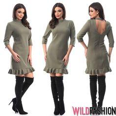 Alege un croi modern pentru un look senzational si la birou... 👩💼❤️👇 High Neck Dress, Dresses, Fashion, Turtleneck Dress, Vestidos, Moda, Fashion Styles, Dress, Fashion Illustrations