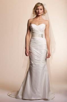 Amy Kuschel wedding dress, 2013