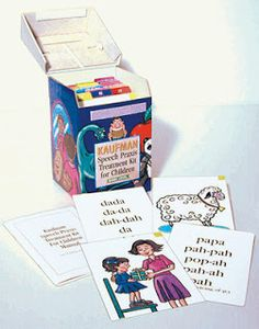 Testy yet trying: Apraxia Therapy Materials: Kaufman Speech Praxis Kit 1 (Basic Level)