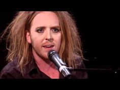 "Tim Minchin singing ""The Pope Song."" One or two F-bombs. In every sentence. Don't watch if it may offend you, LOL! But a very good rant on the Catholic church."