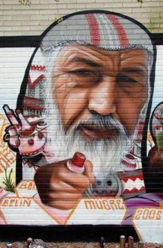 Graffiti de Belin em 2006 em Sevilla