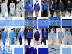 blue / key Colour