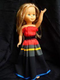 ANILEGRA COSE PARA NANCY: TUTORIAL PARA HACER UN VESTIDO PARA NANCY, o cualquier otra muñeca SIN PATRÓN