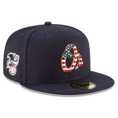 1cb388ad6 Men s Baltimore Orioles New Era Navy 2018 Stars   Stripes 4th of July  On-Field 59FIFTY Fitted Hat