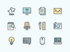 Office icon Set by Denis Rodchenko