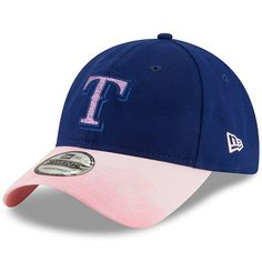 3281fd61c87 Texas Rangers New Era Women s 2019 Mother s Day Team Glisten 9TWENTY  Adjustable Hat - Royal