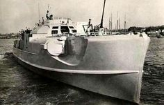 """Schnellboot, S-Boot, """"fast boat"""" which they were. With almost 9000hp, 4 torpedoes,& machine guns weighting in at 100 tons loaded.They were a formidable & deadly force in all their operations, even after their surrender they were used by other navy's."""