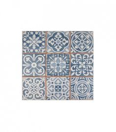 Home Depot Faenza Azul Ceramic Floor and Wall Tile