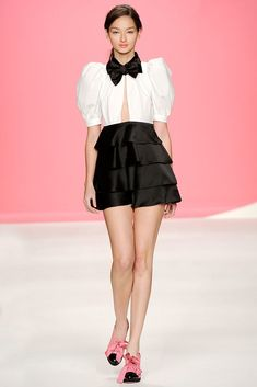 Moschino Cheap And Chic Spring 2010 Ready-to-Wear Fashion Show - Bruna Tenorio
