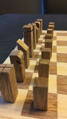 diy holz Chess Set From Wood 2019 Picture of The Pieces The post Chess Set From Wood 2019 appeared first on Woodworking ideas. Easy Woodworking Projects, Woodworking Projects Diy, Popular Woodworking, Woodworking Jigs, Woodworking Furniture, Woodworking Techniques, Youtube Woodworking, Wood Furniture, Woodworking Beginner