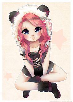 imma panda by Marmaladecookie.deviantart.com