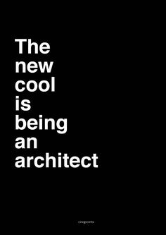 #architecture#quote#poster