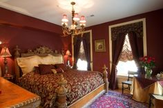The Bed Room at the 1840's Carrollton Inn