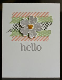 Klompen Stampers (Stampin' Up! Demonstrator Jackie Bolhuis): Washi Tape: Day 3