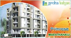 Gruha Kalyan PRIMROSE, Flats for Sale In Marathahalli, Near to Saibaba Temple, 1 BHK, 2 BHK & 3 BHK Available Price Starts From 12 LAKHS ON WARDS.