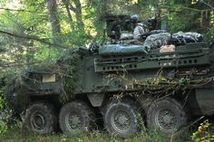 Stryker armored vehicle