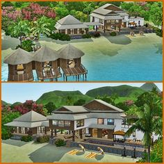 Tropical Asian Resort (NoCC) by saitouamy - The Exchange - Community - The Sims 3