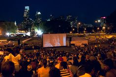 This Friday, the final screenings at Center City's 1st drive-in theater. Philly's finest local food trucks & concessions on-site. Head to Eakins Oval at 7:30pm.