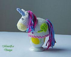 Eierwärmer und Eierbecher häkeln / super für Anfänger + Wollreste