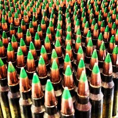 62gr Penetrators 5.56mm  green tipped goodness