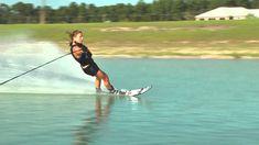Regina Jaquess Slalom Slow Motion