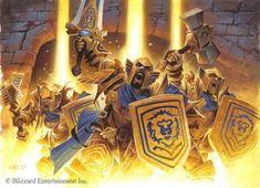 Wow Of Warcraft, Warcraft Legion, Warcraft Art, Wayne Reynolds, Paladin, Character Concept, Character Art, Night Elf, Wow Art